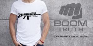 2nd Amendment AR15 Tshirt - Boom Truth