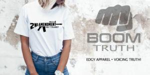 Boom Truth Tshirt - 2nd Amendment AR15