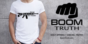Patriotic Edgy Apparel by Boom Truth