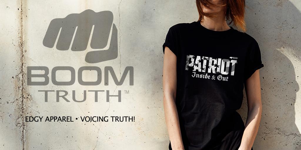 Boom Truth Tshirt - Patriot Womens