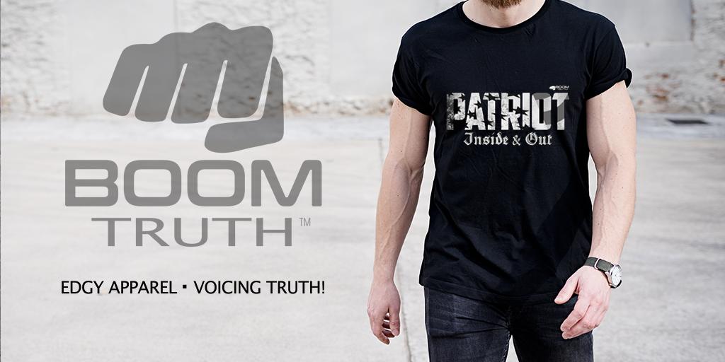 Boom Truth Tshirt - Patriot Mens